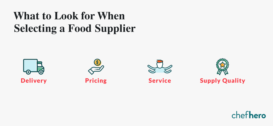 The Challenge of Selecting the Right Food Supply Company
