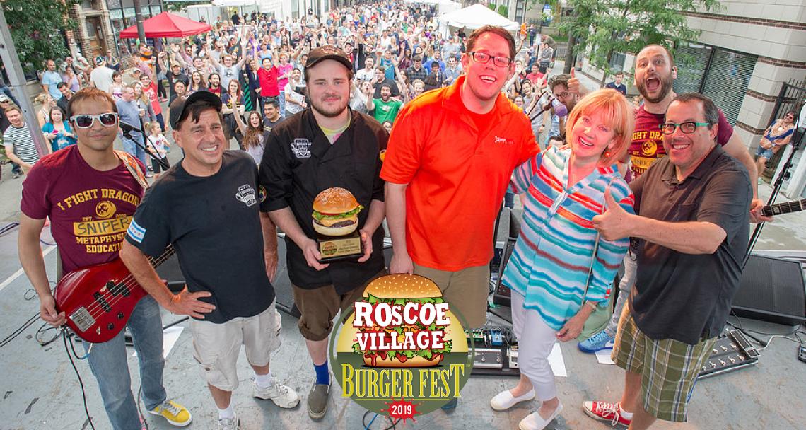 Roscoe Village Burger Fest
