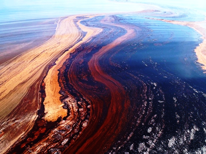 Deepwater Horizon oil slick in the Gulf of Mexico