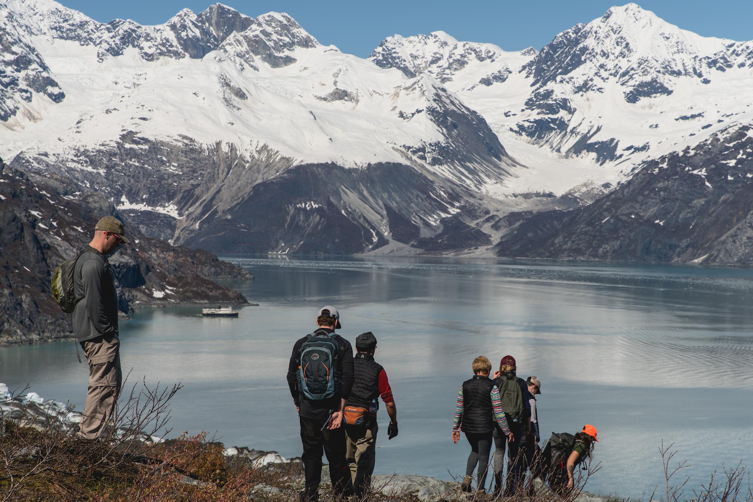 Hiking in Glacier Bay