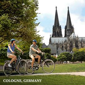 Amsterdam, Netherlands (overnight); Cologne, Germany; Rhine Gorge, Germany; Rüdesheim, Germany; Ludwigshafen, Germany; Strasbourg, France; Breisach, Germany; Basel, Switzerland