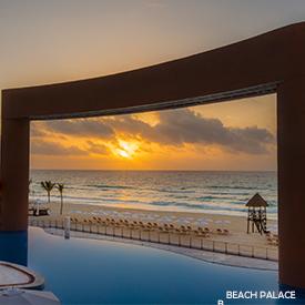 Beach Palace in Cancun