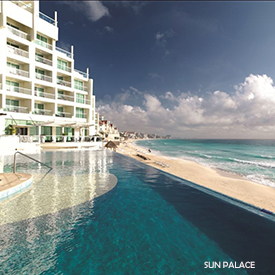 Sun Palace in Mexico