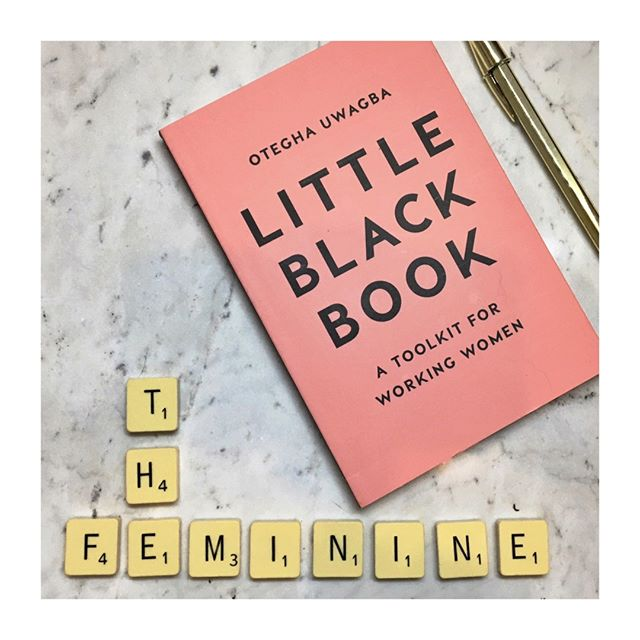 If you're having trouble motivating yourself for the week and year ahead, Little Black Book by @oteghauwagba is a must read. It's filled with invaluable advice on how to manage your time, give yourself space to think creatively and manage your personal brand in your professional life. #thefemininebookclub #littleblackbook #wewomen #empoweredwomenempowerwomen