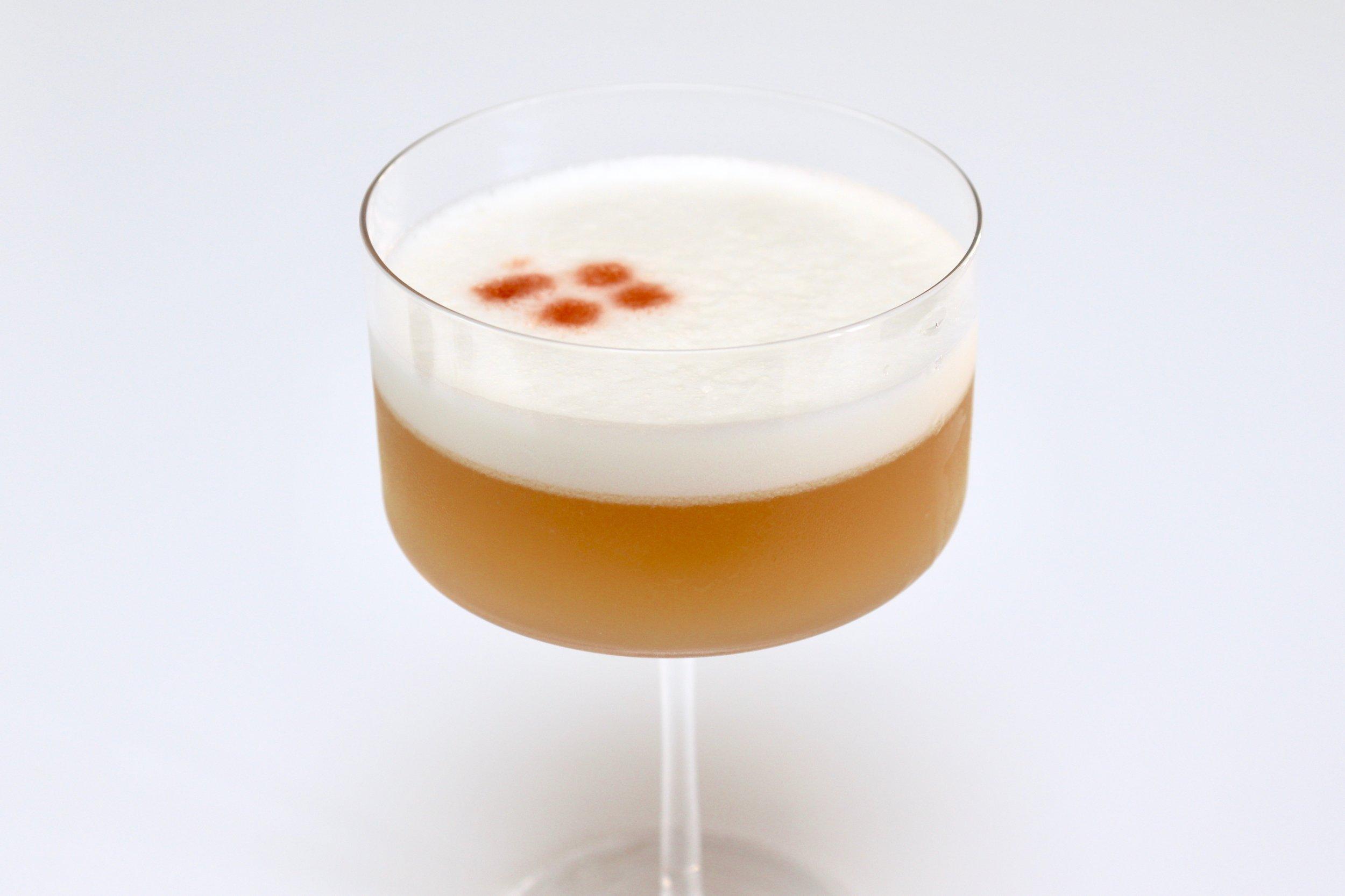 Classic Pisco Sour cocktail