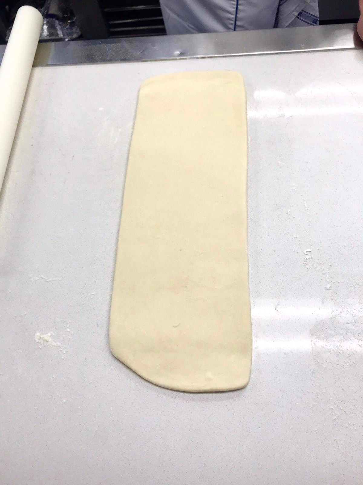 Roll after inclusion of butter