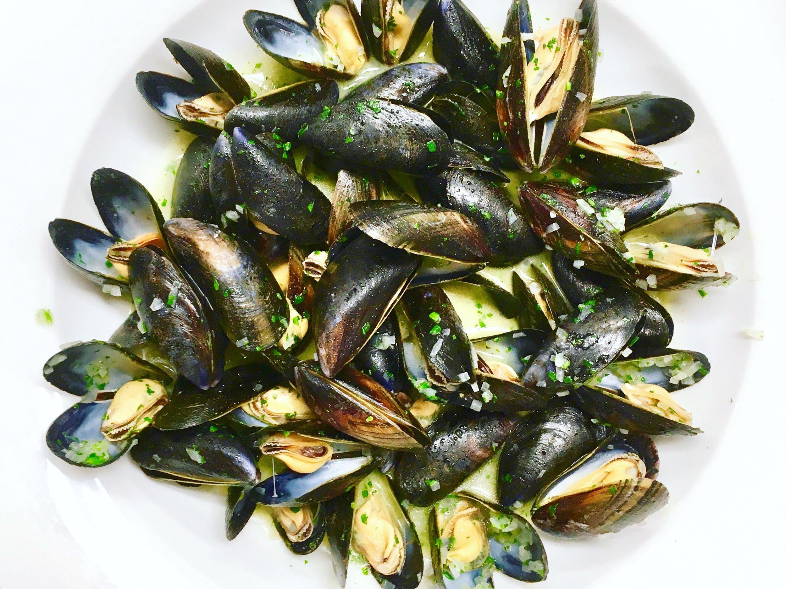 Mussels Moules Marinières