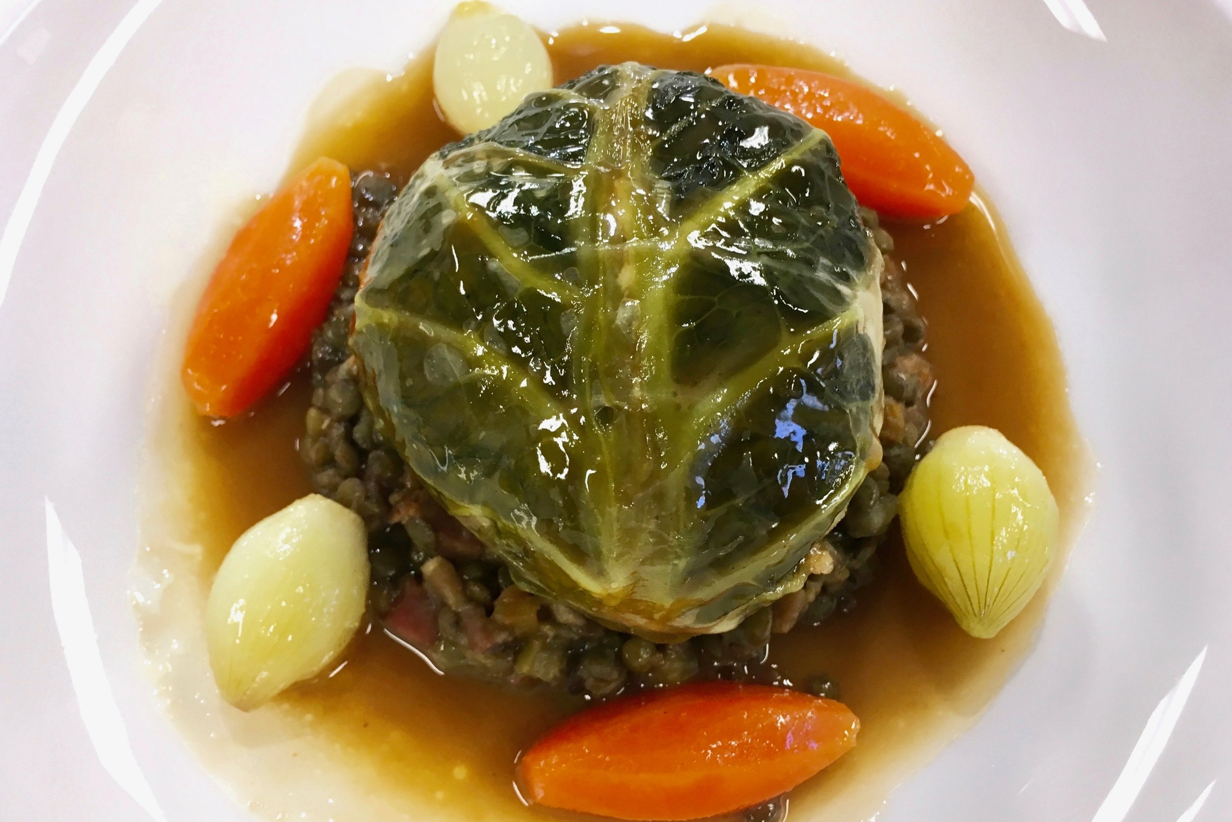My attempt at stuffed cabbage