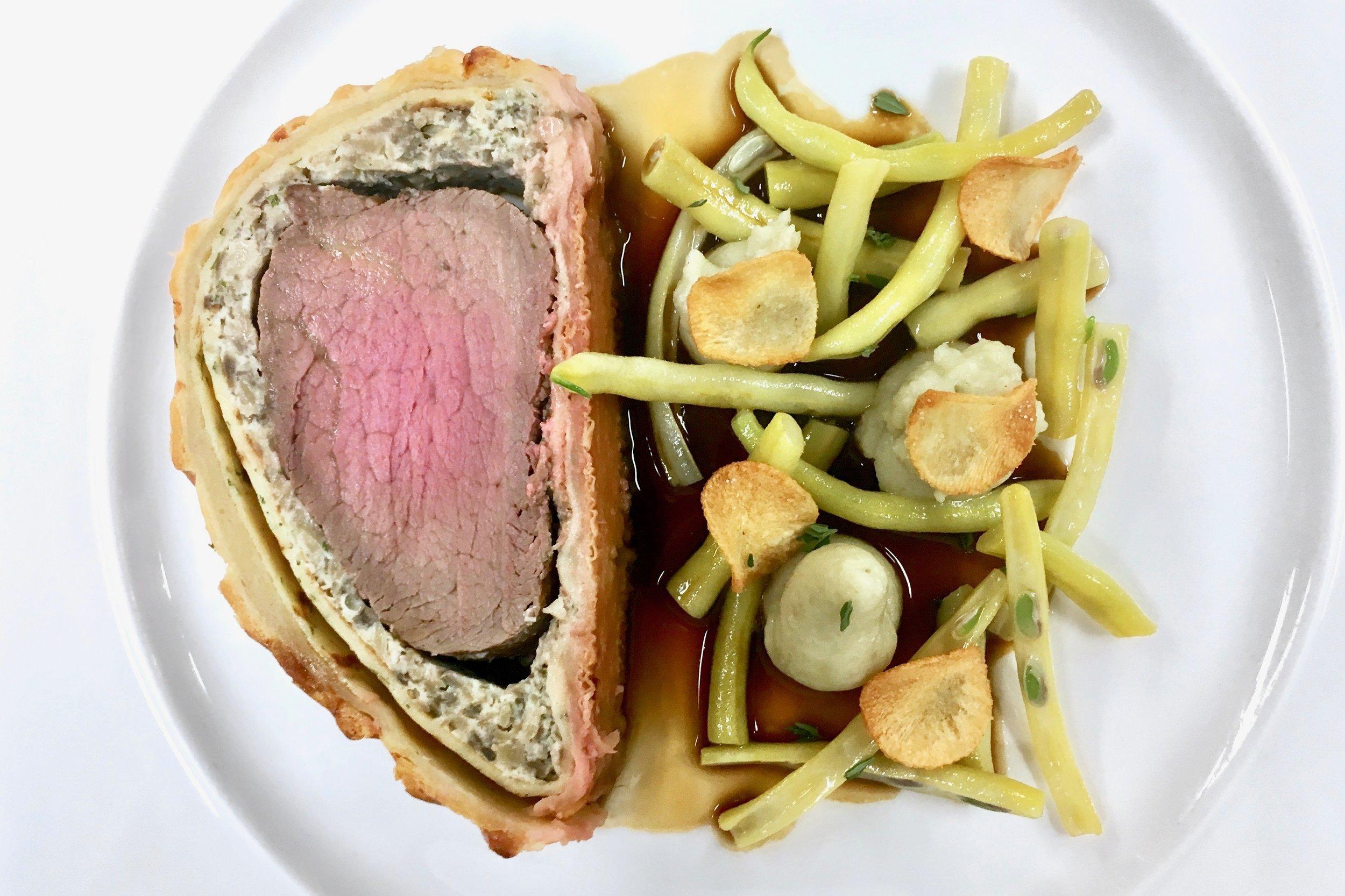 Slightly overcooked Beef Wellington