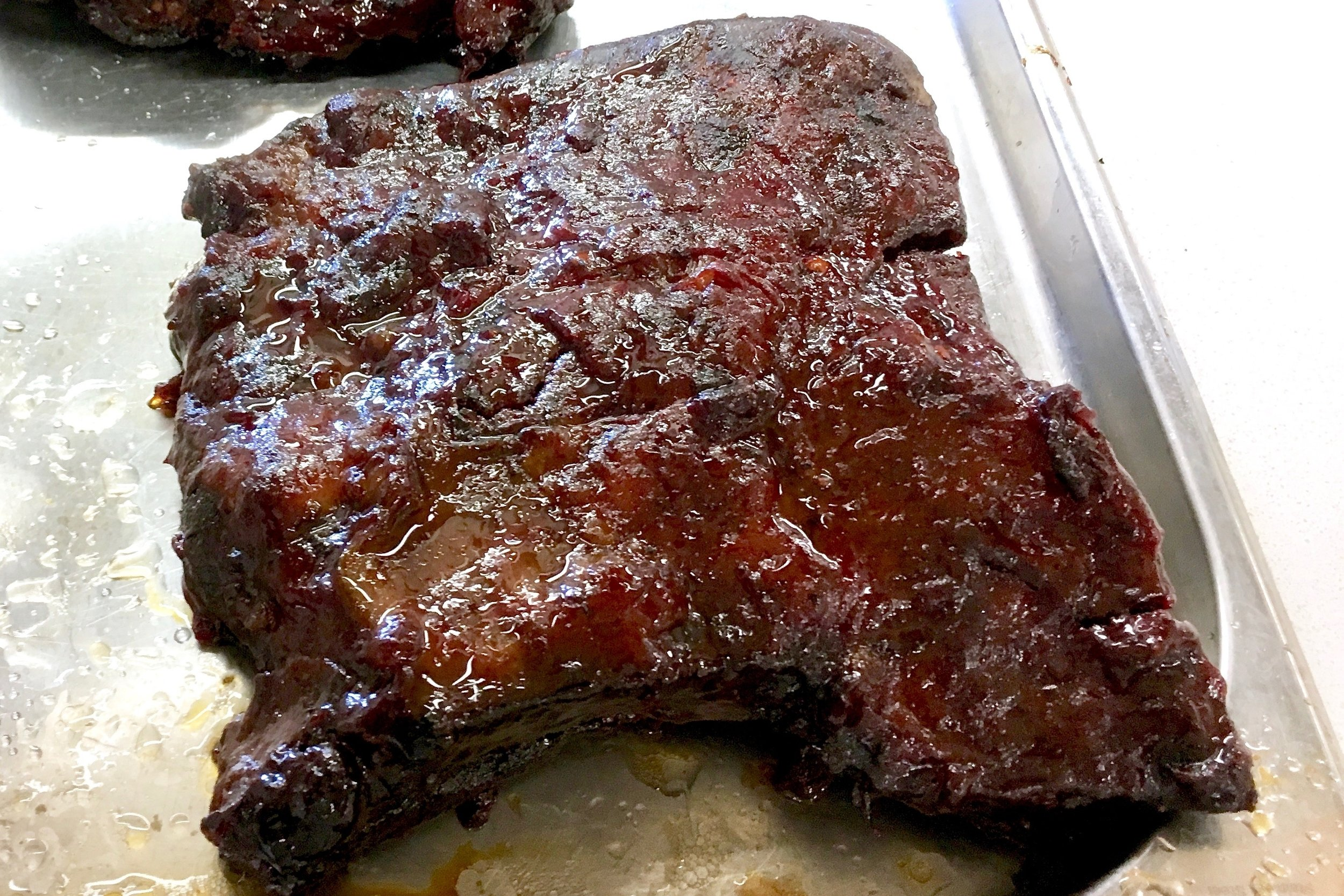 Sticky beef short ribs
