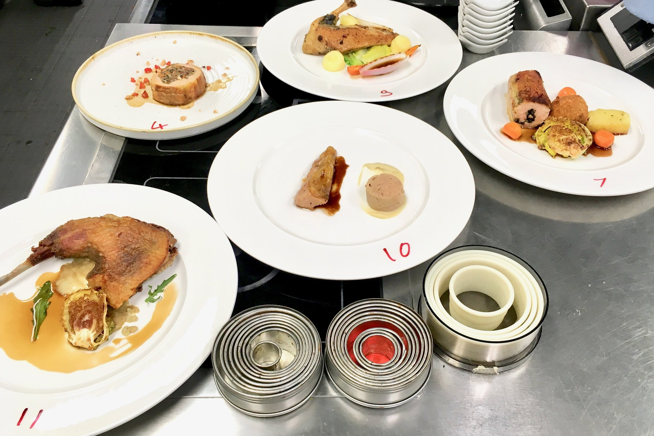 Main courses from Group C