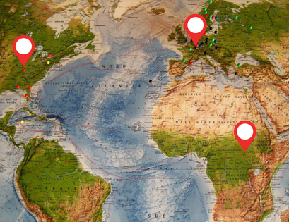 We now have Enough Hubs in Africa, Europe and the USA. In addition to this we have small gathering of people praying in the Middle East, Asia and Australasia.