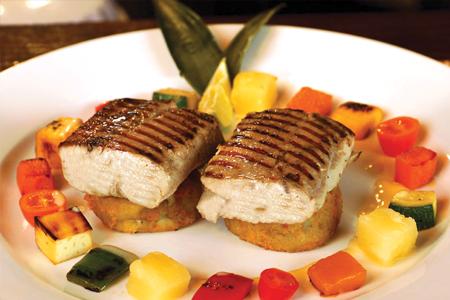 Cariba Aruba Fish Dish