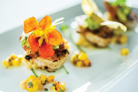 Coral Reef Club Barbados Shrimp Dish