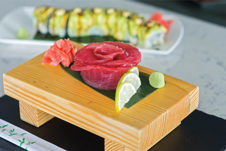 FusionRooftop Barbados Sushi