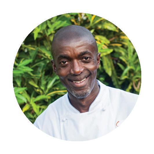 Glen Bent    Executive Chef / Owner    Cariba Restaurant & Bar