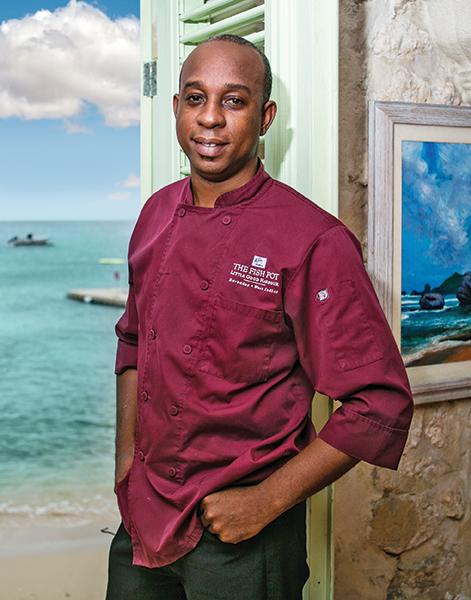 Stephen Belgrave   Chef – The Fish Pot