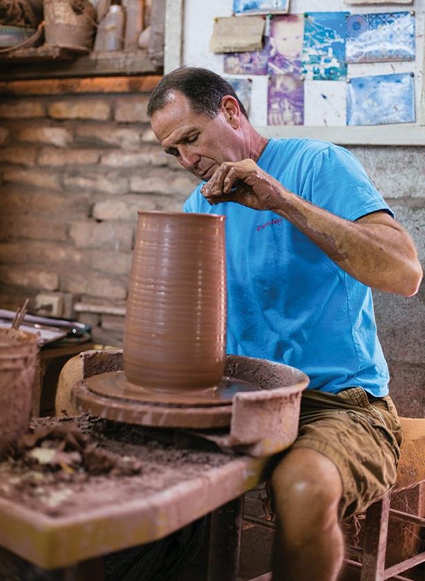 David Spieler   Owner – Earthworks Pottery