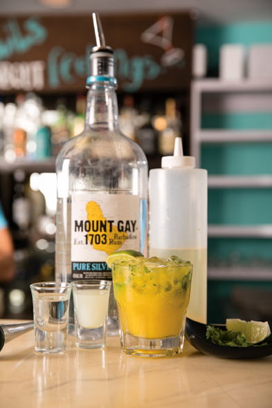 The Mango Chow Cocktail - Cocktail Kitchen Barbados