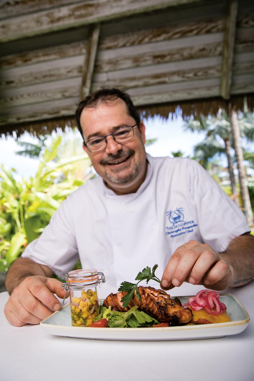 Executive Chef Christophe Poupardin of The Sandpiper Barbados