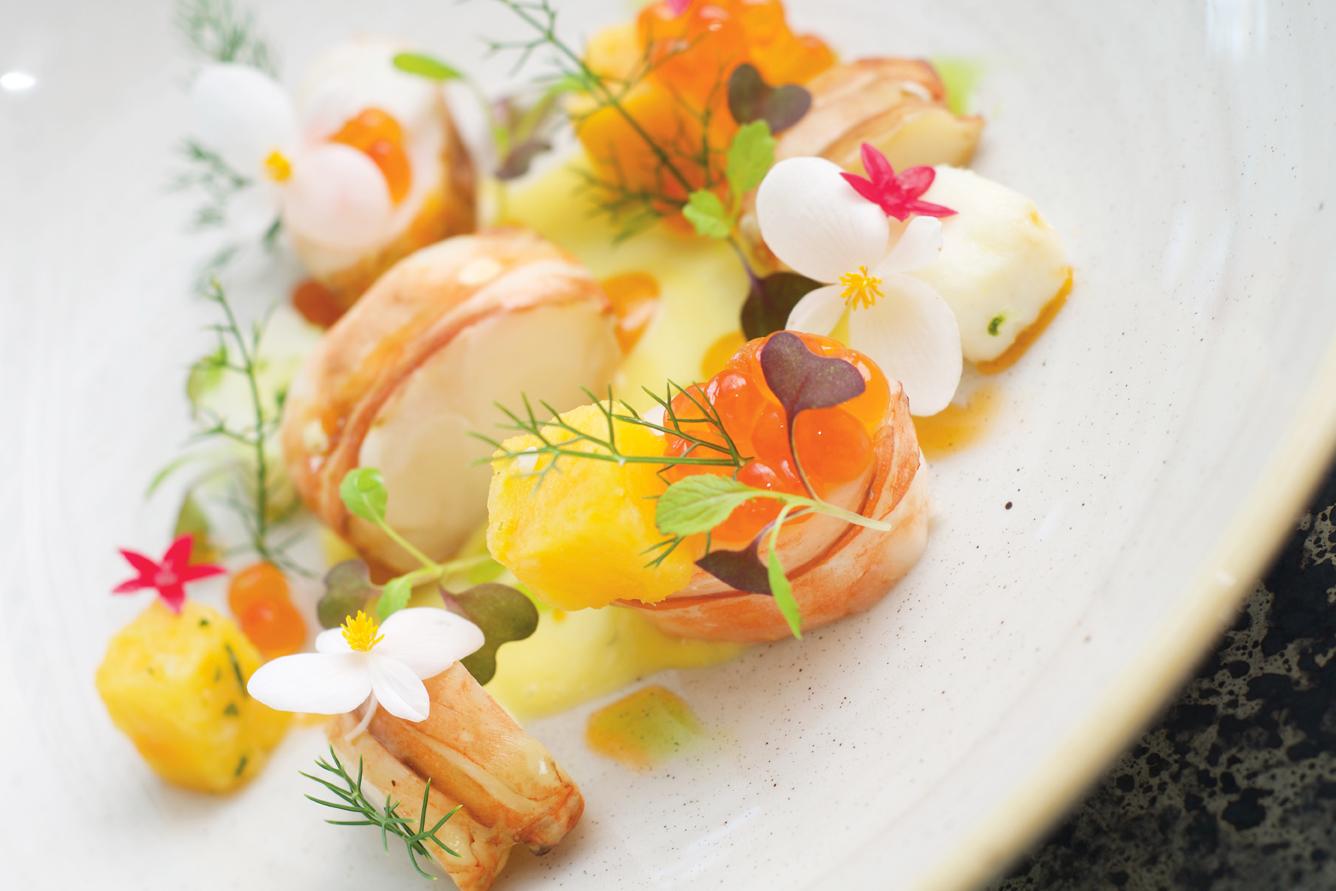 Hugo's Barbados Seafood Dish