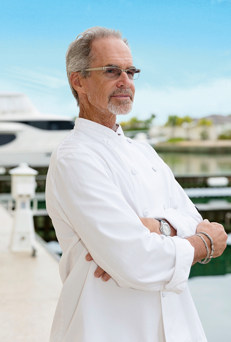 Executive Chef Larry Rogers of Dockside at 13°/59°