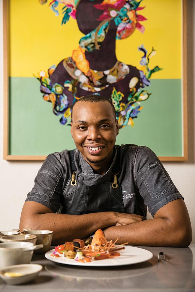 Javon Cummins   Head Chef – Tapestry Restaurant