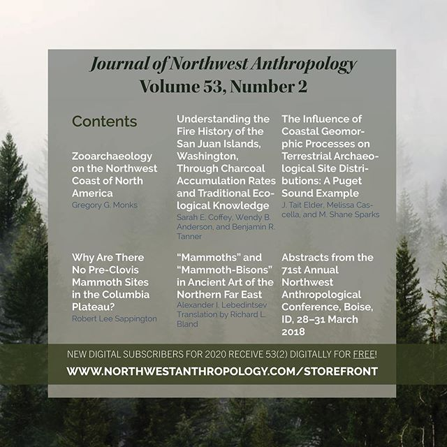 JONA 53(2) coming soon. See below for a great offer! 📗 Don't want to miss these articles? New digital subscribers for 2020 (Volume 54, Nos. 1 & 2) will receive a digital copy of 53(2) FREE when they subscribe by the end of the year! 📗 Visit our storefront now (link in bio) to become a digital subscriber for only $25.