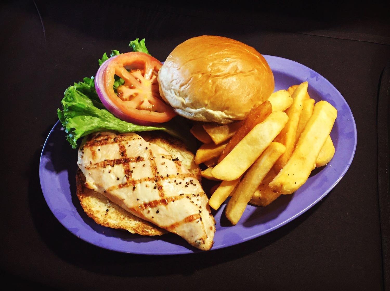 Organic Chicken Breast Sandwich
