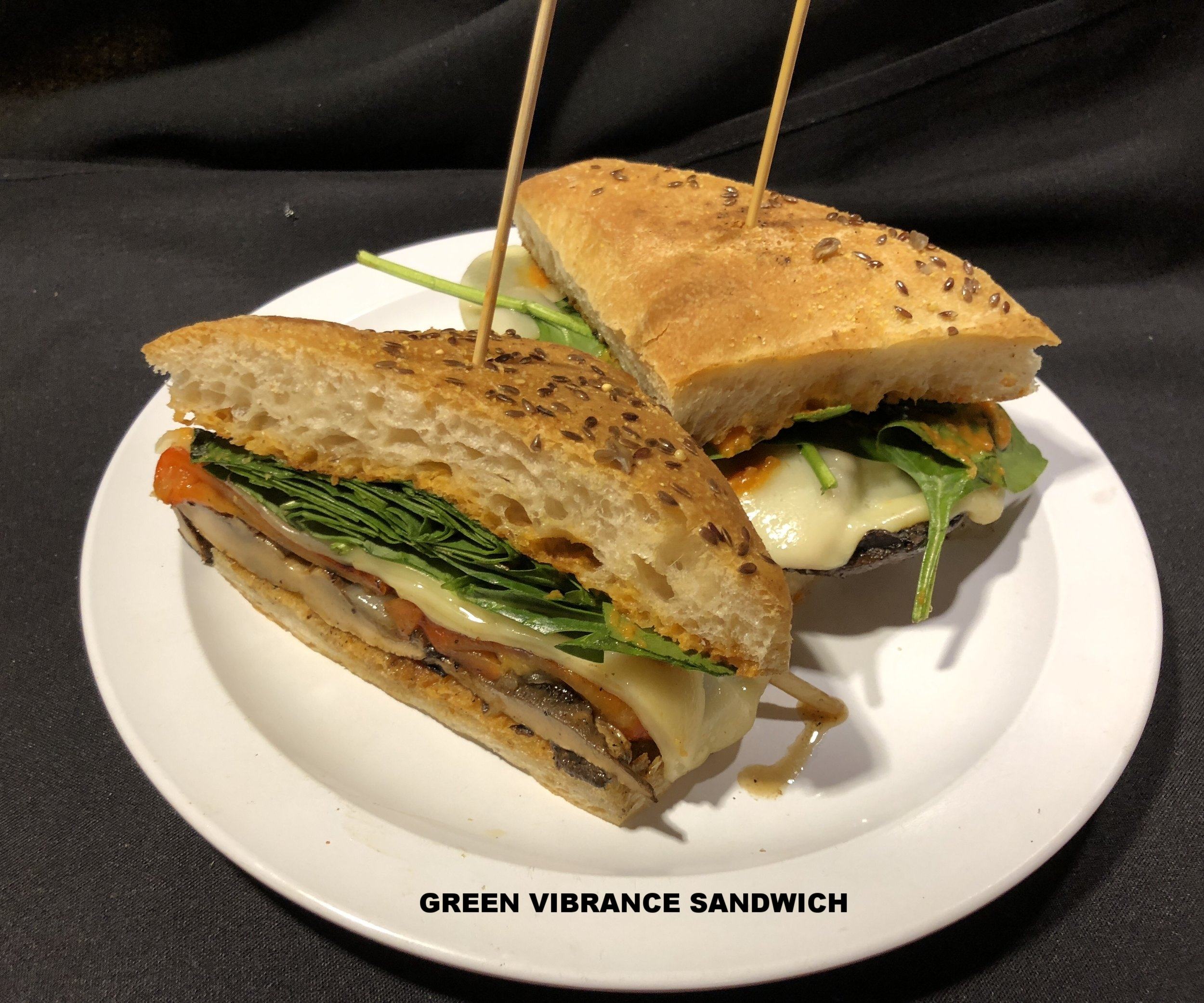 Green Vibrance Sandwich