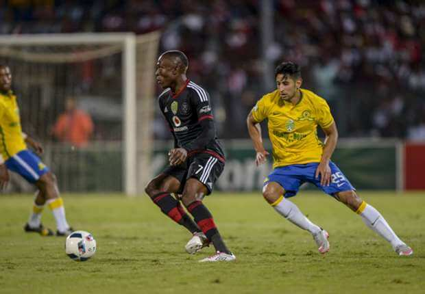 Mamelodi Sundowns and Orlando Pirates compete in the PSL