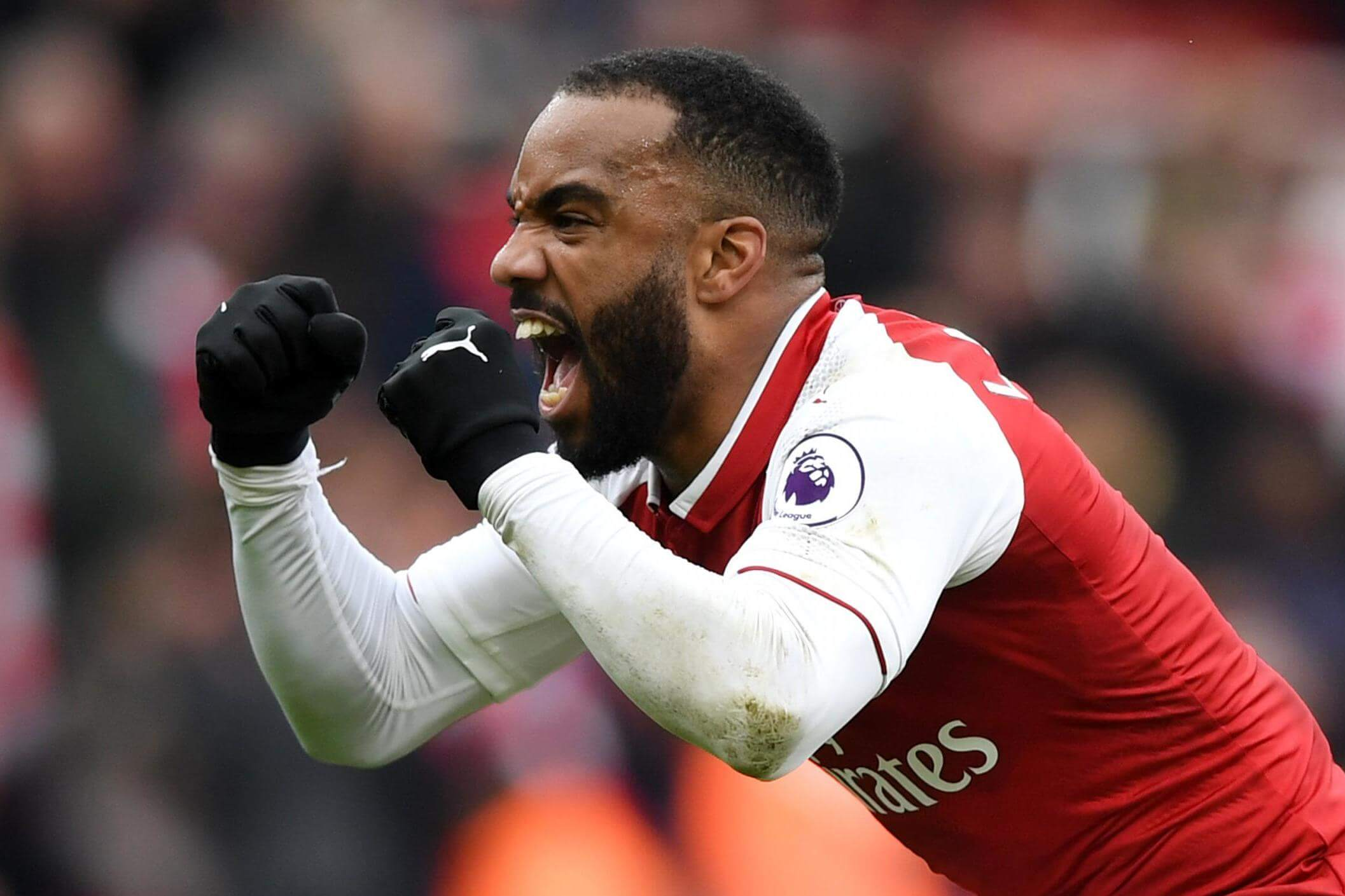 Lacazette scores a brace for Arsenal against CSKA Moscow in the UEFA Europa League