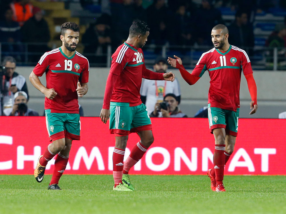 Morocco national team players prepare for World Cup 2026 Bid