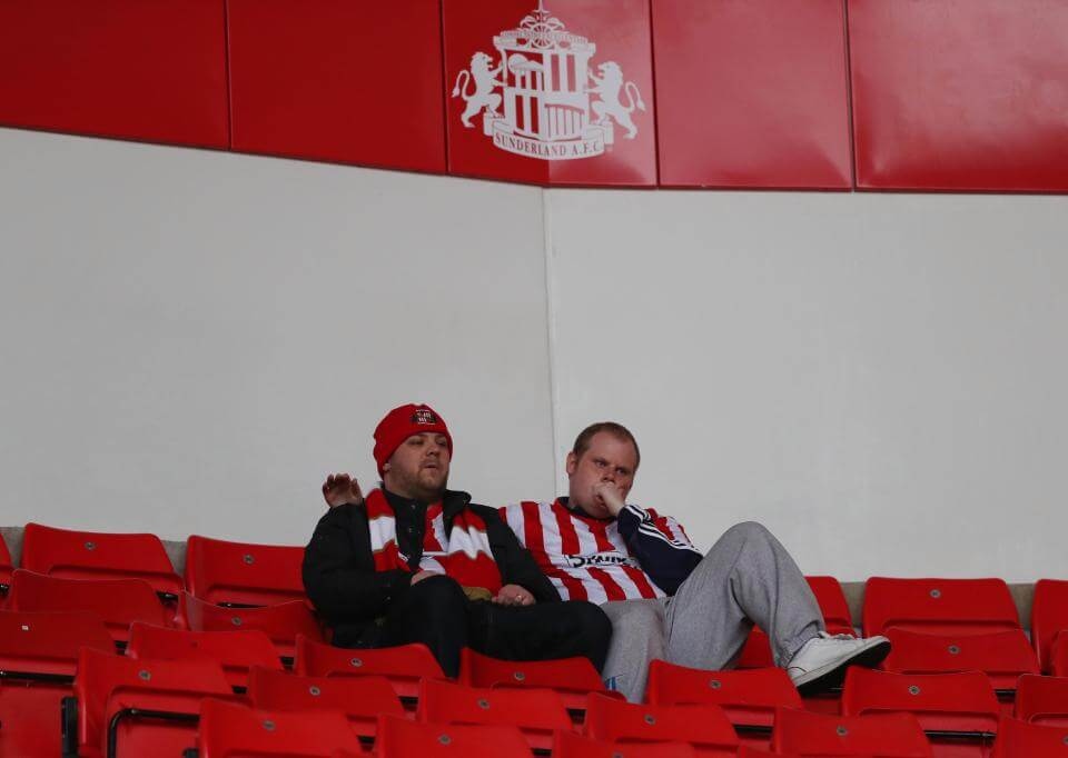Championship side Sunderland relegated to League One