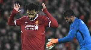 Mohamed Salah of Liverpool FC shows respect to former side Roma FC in UEFA Champions League Semi-Final