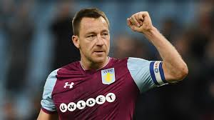 John Terry in action for Aston Villa FC in English Chamionship