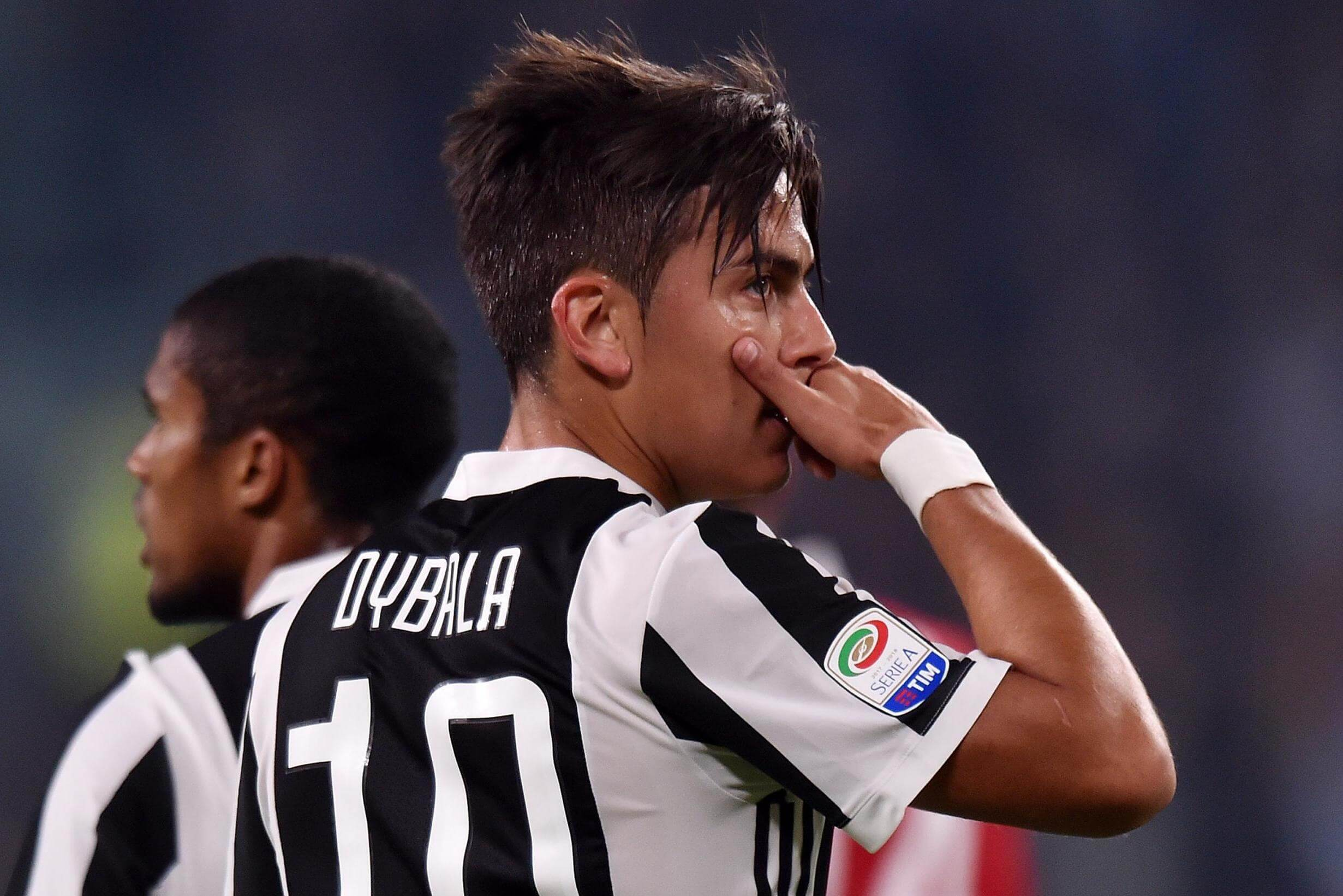 Paulo Dybala in action for Juventus FC in Coppa Italia