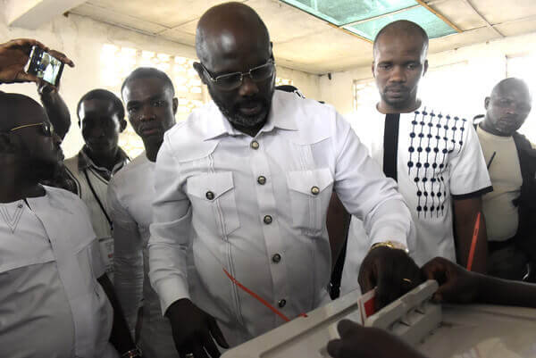 President George Weah of Liberia will construct new stadiums for his country.