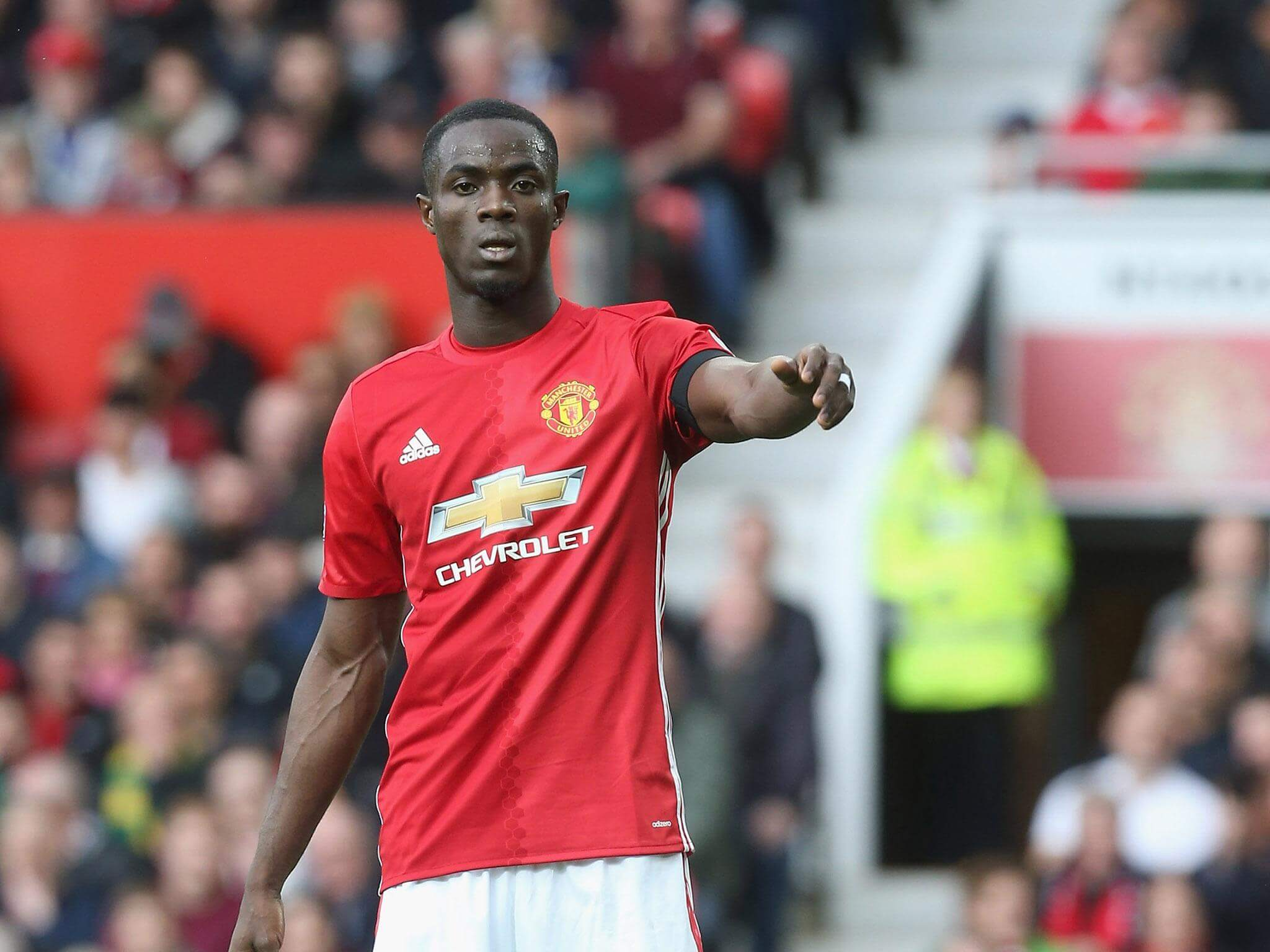 Eric Bailly of Manchester United FC has already established himself as one of the top center-backs in all of Europe. He also represents the Ivory Coast national team.