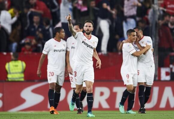 La Liga club Sevilla had a huge Champions League win against Jose Mourinho and Manchester United