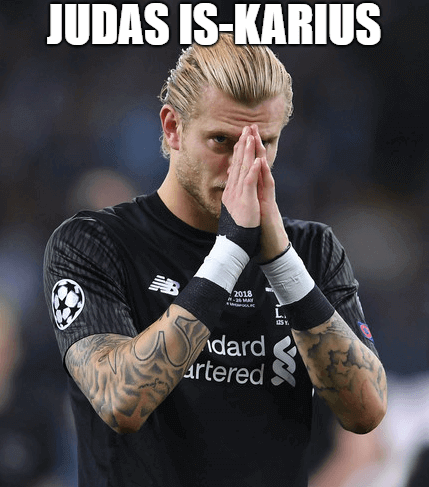 Loris Karius of Liverpool breaks down in tears after defeat in the UEFA Champions League final between Real Madrid and Liverpool on May 26, 2018 in Kiev, Ukraine.