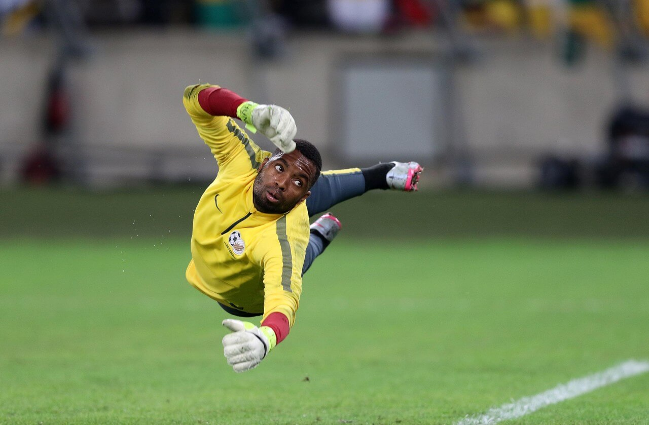 Itumeleng Khune of Kaizer Chiefs and South Africa has had a standout season and is the Goalkeeper in FT 2017/18 Best African XI.