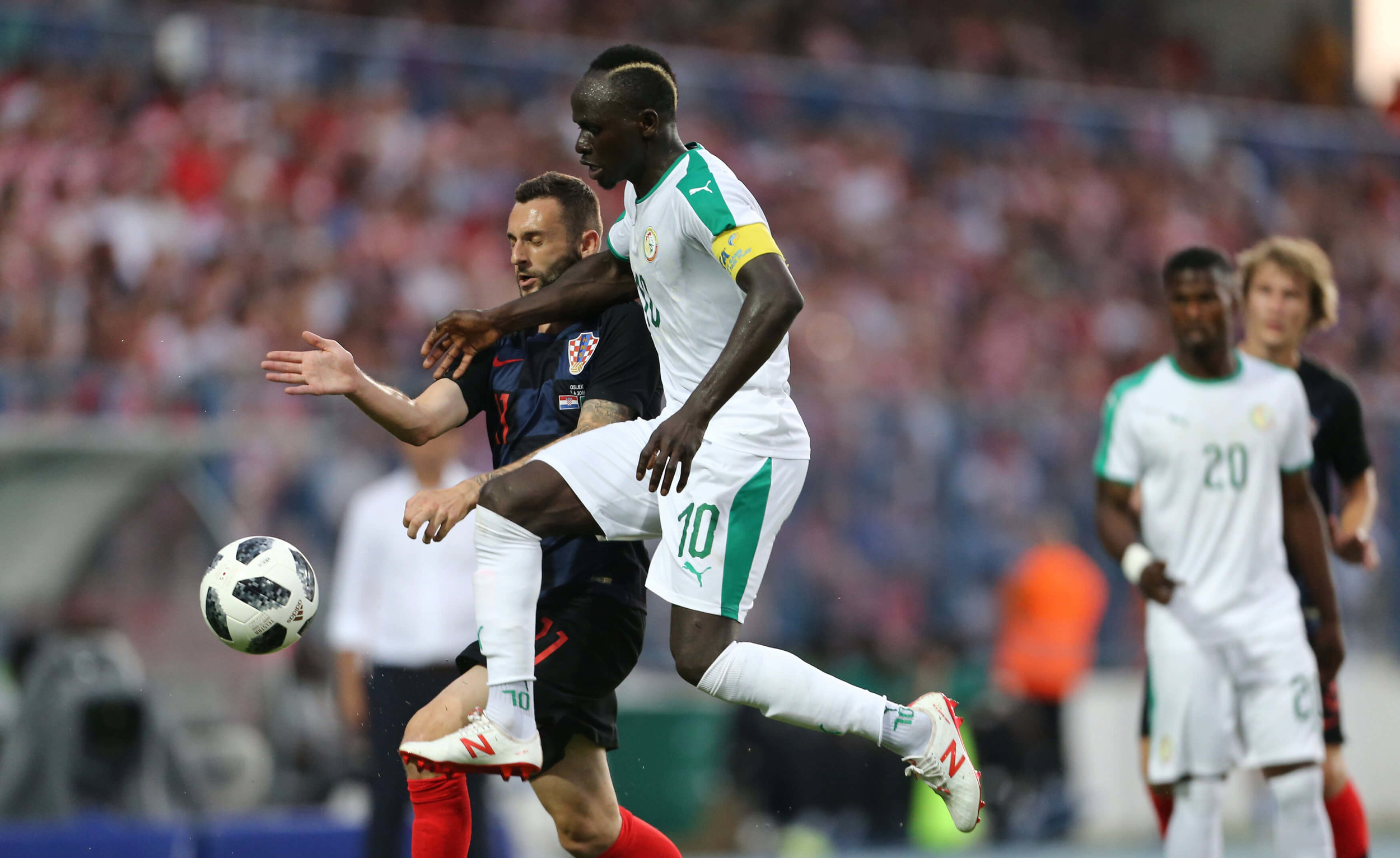 Luka Modric and Croatia will arrive in Russia full of confidence after a 2-1 victory against Sadio Mane and Senegal.
