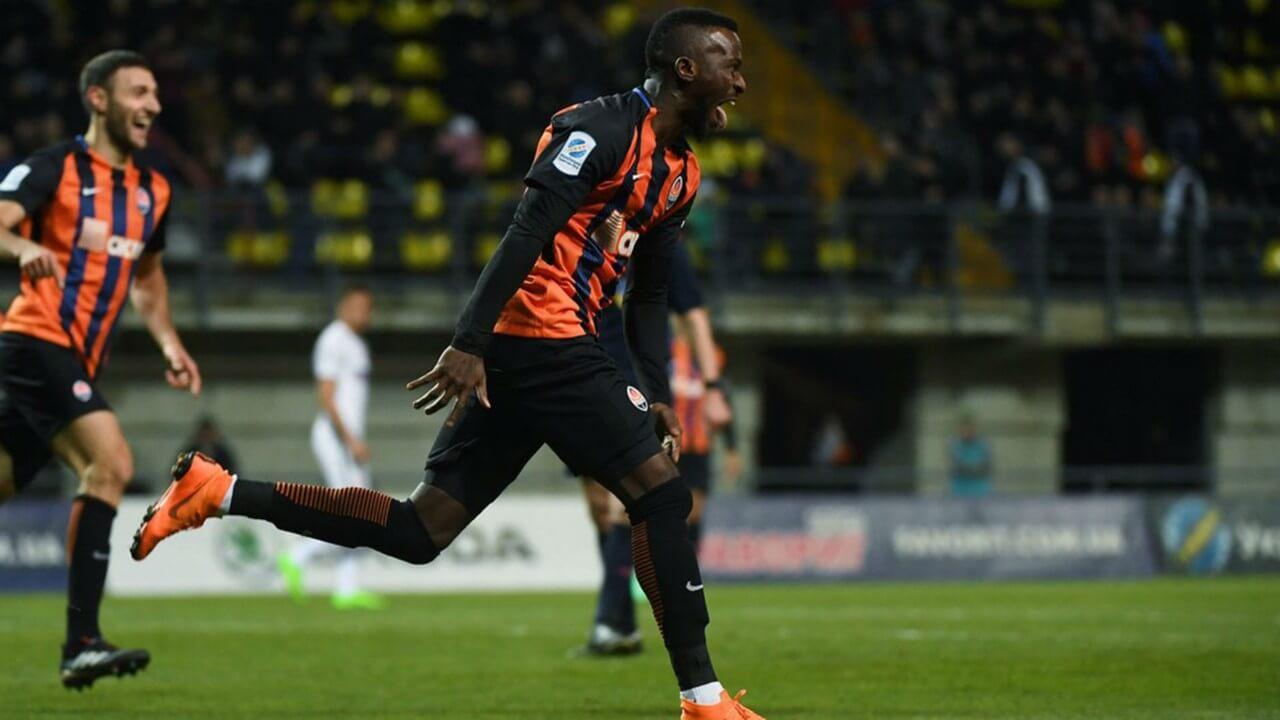 Nigerian striker, Olanrewaju Kayode, leaves Manchester City for Shakhtar Donetsk.