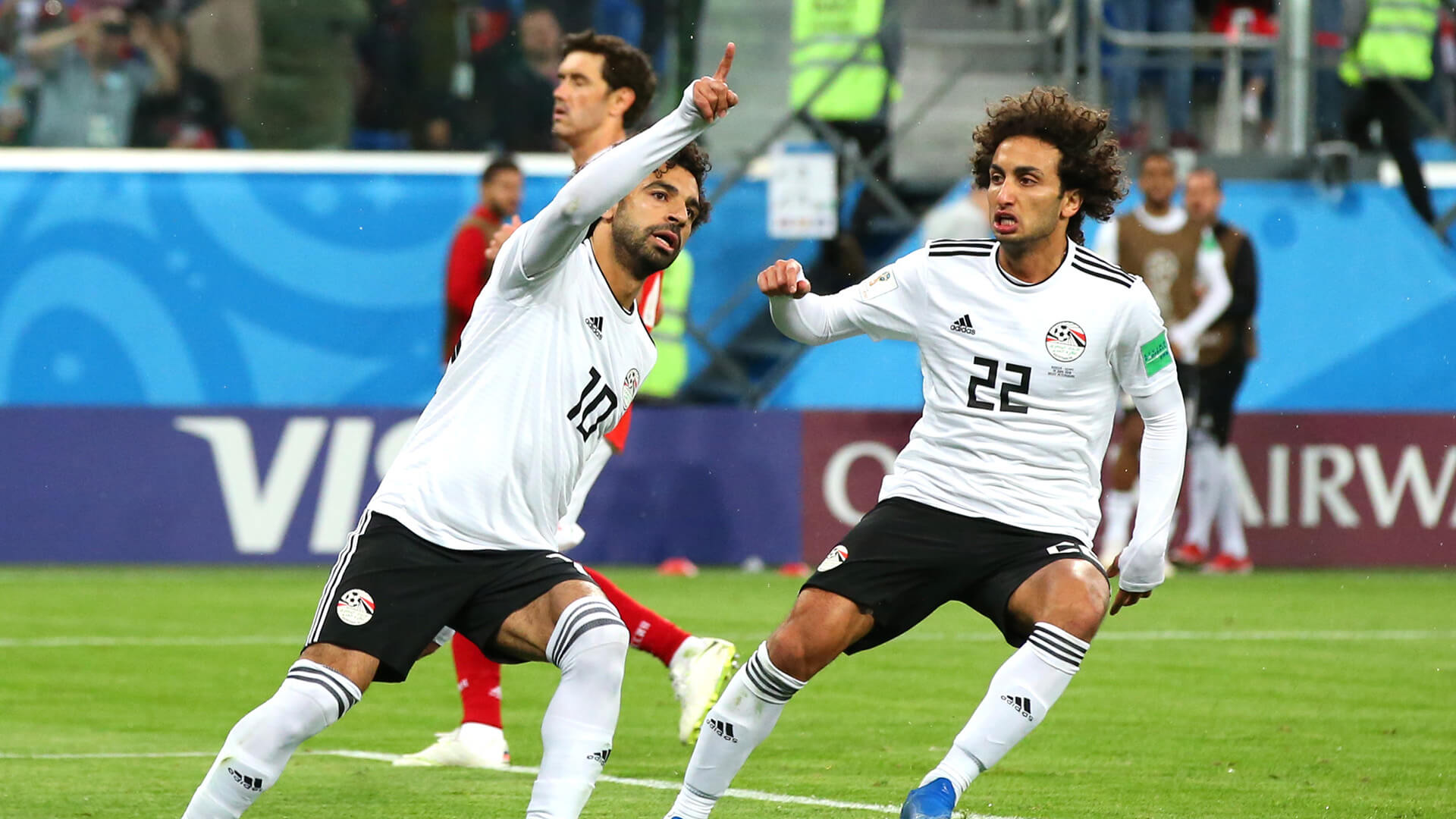 Egypt one step closer to elimination with loss to Russia as Mohamed Salah makes return from injury