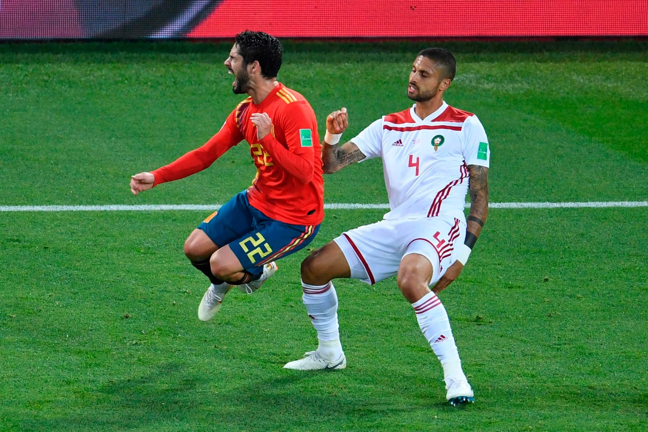 Morocco and Spain share the spoils in the final Group B match that was unfortunately marked with VAR controversy
