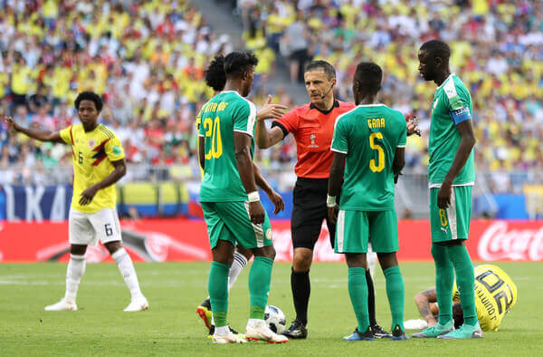 Senegal were eliminated from the World Cup 2018 after suffering a 1-0 loss to Colombia.