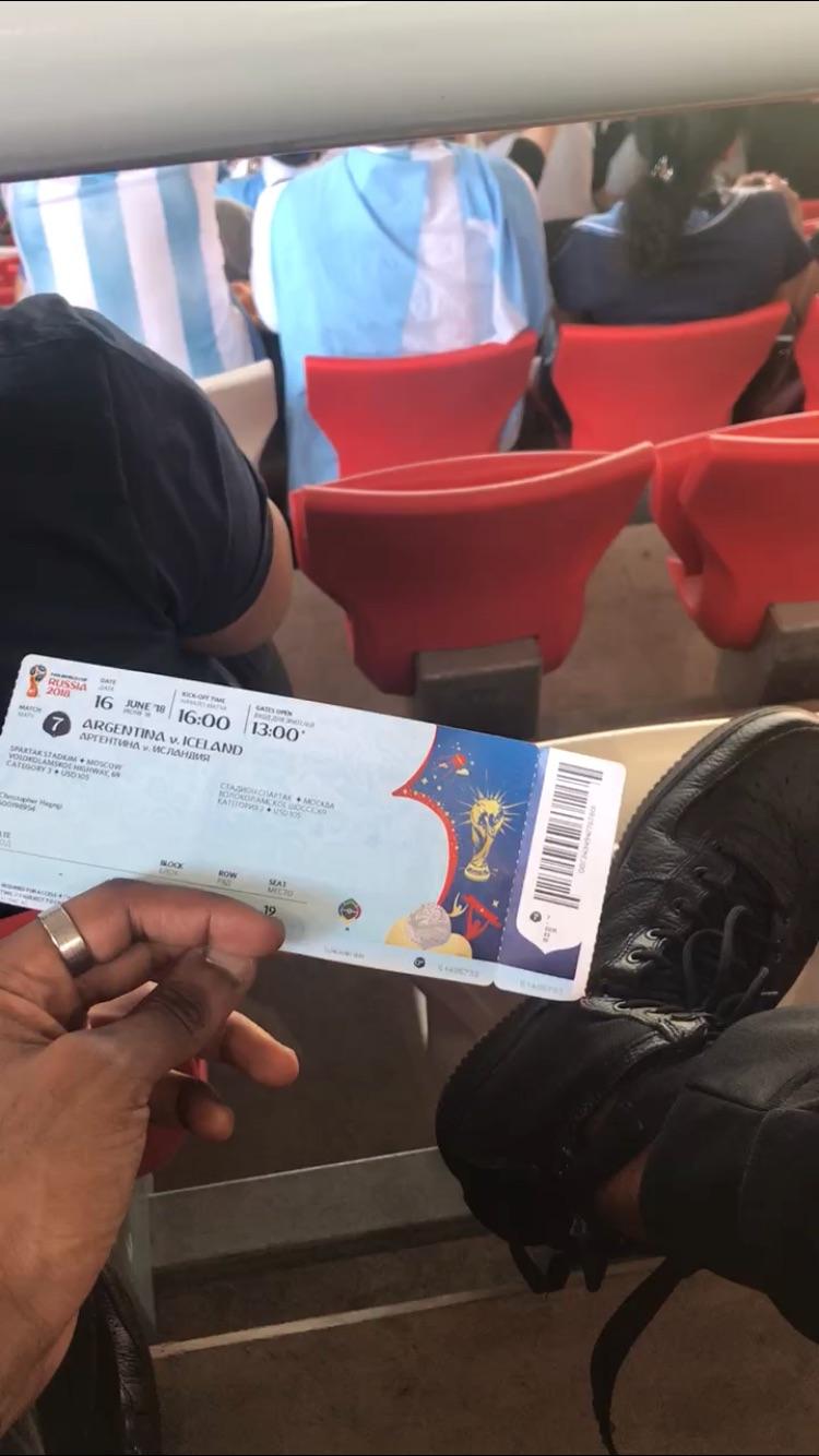 Spartak Stadium World Cup 2018 Argentina vs Iceland