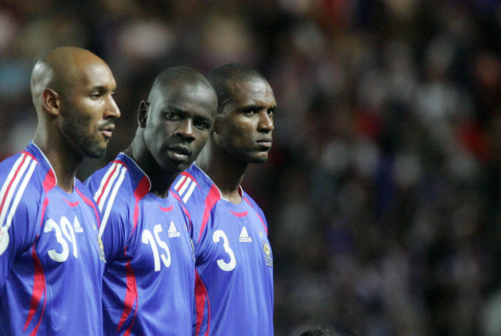 During the 2010 World Cup, the team encountered many discipline issues. Instead of an investigation into the dysfunction that had led to such a situation, the criticism was focused on questioning the players' loyalty to their country since they had roots abroad.