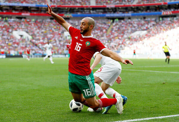 Morocco completely took the game to Portugal and dominated the game despite losing out 1-0 in a Group B FIFA World Cup clash in Russia 2018.